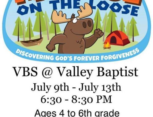 Vacation Bible School July 9 – 13 2018